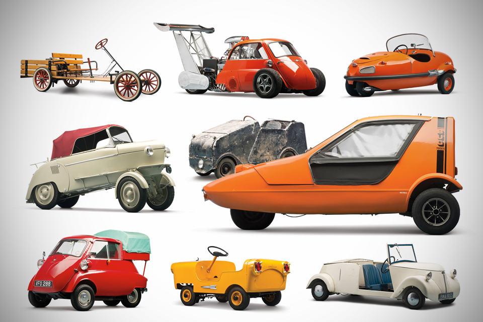 9 Worthy Microcars at The Bruce Weiner Microcar Museum Auctions