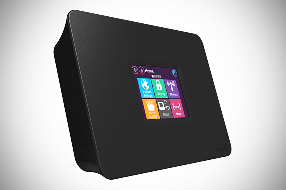 almond ac touchscreen wifi router smart home hub. Black Bedroom Furniture Sets. Home Design Ideas