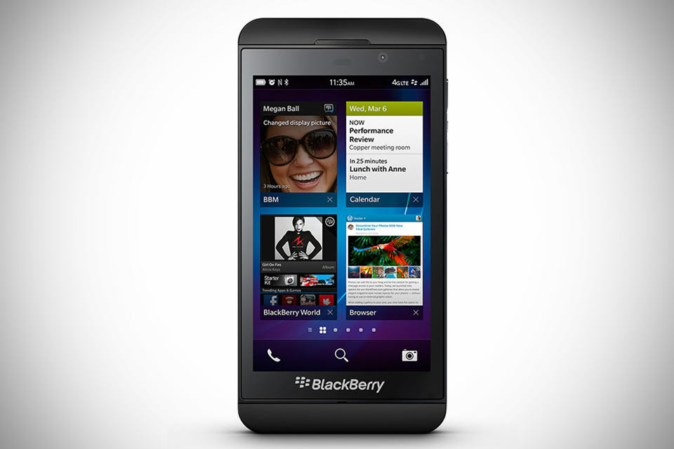 BlackBerry Z10 LTE-enabled Smartphone
