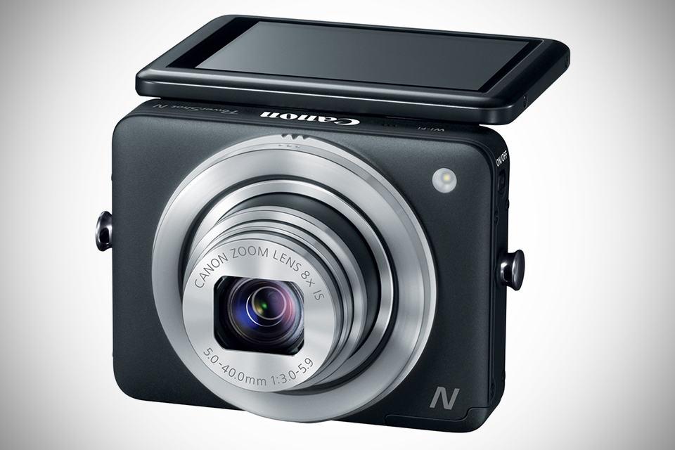 Canon PowerShot N Digital Camera - Black
