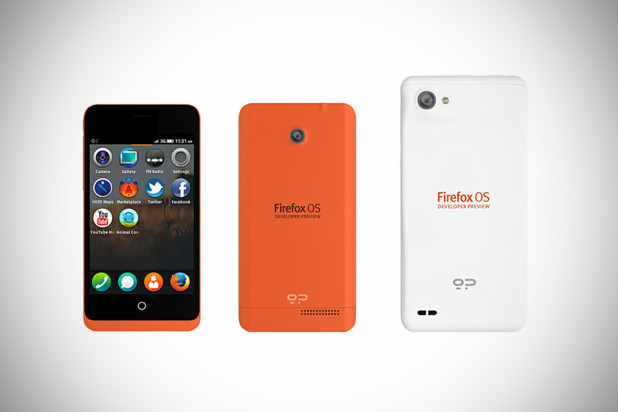 Firefox OS Developer Preview Phones by Geeksphone - the Keon and the Peak