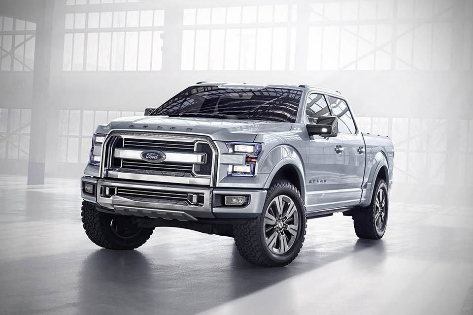 Ford Atlas Concept Truck - mikeshouts Ford Concept Trucks Atlas