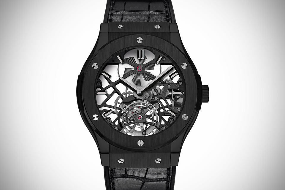 Hublot Classic Fusion Skeleton Tourbillon Black Ceramic