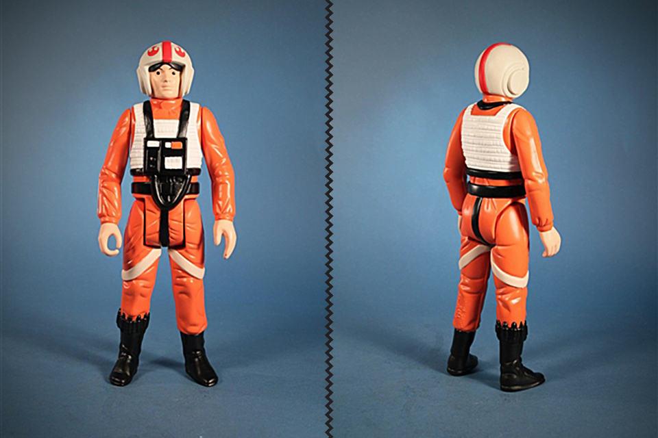 Luke X-Wing Jumbo Kenner Figure