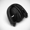 Marshall The Monitor Black Headphones - Folded