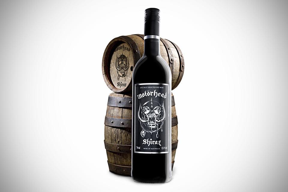 Motorhead Shiraz - hard rocking wine
