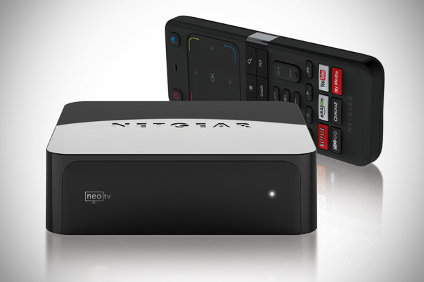 NETGEAR NeoTV PRIME with Google TV Streaming Player