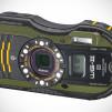 Pentax WG-3 GPS Ruggedized Cameras - Green