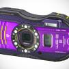 Pentax WG-3 GPS Ruggedized Cameras - Purple