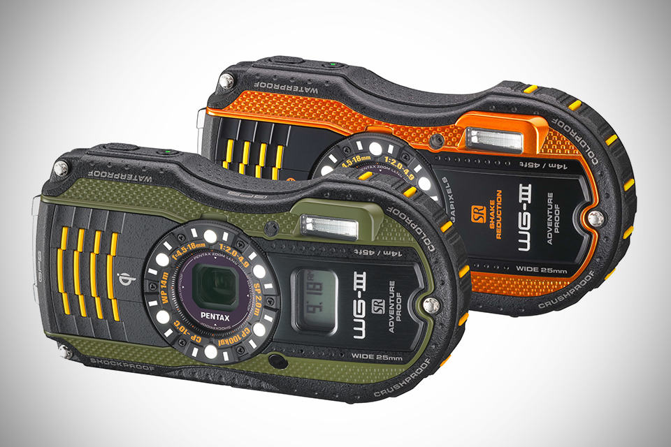 Pentax WG-3 GPS and WG-3 Ruggedized Cameras