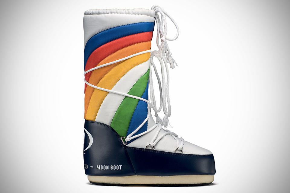 Rainbow Moon Boots by Moonboot