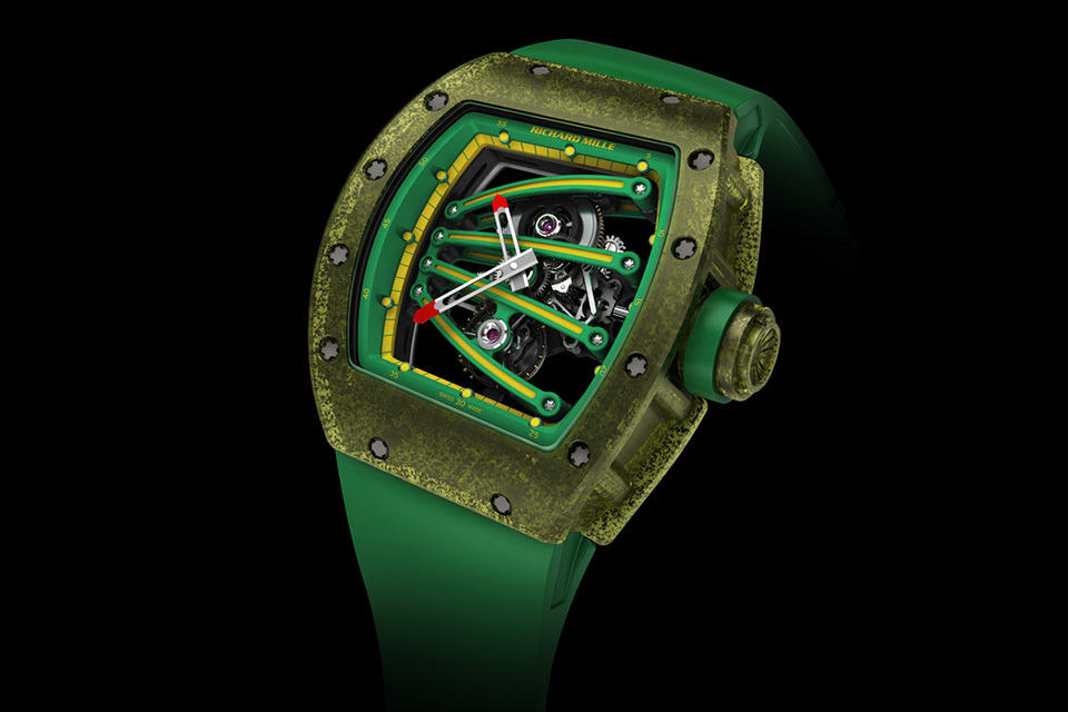 Richard Mille 59-01 Tourbillon Yohan Blake