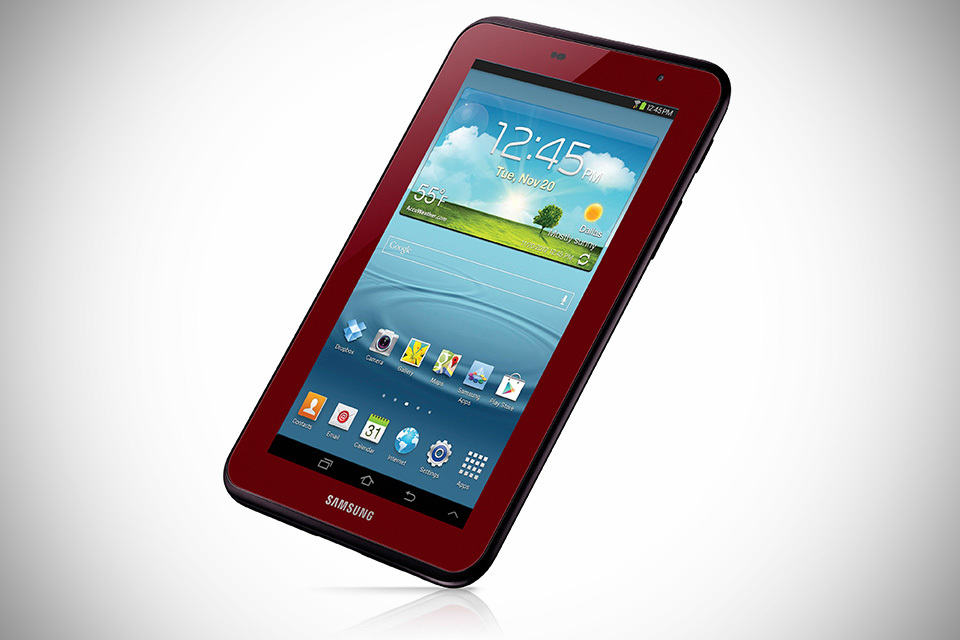 Samsung GALAXY Tab 2 7.0 Garnet Red Edition