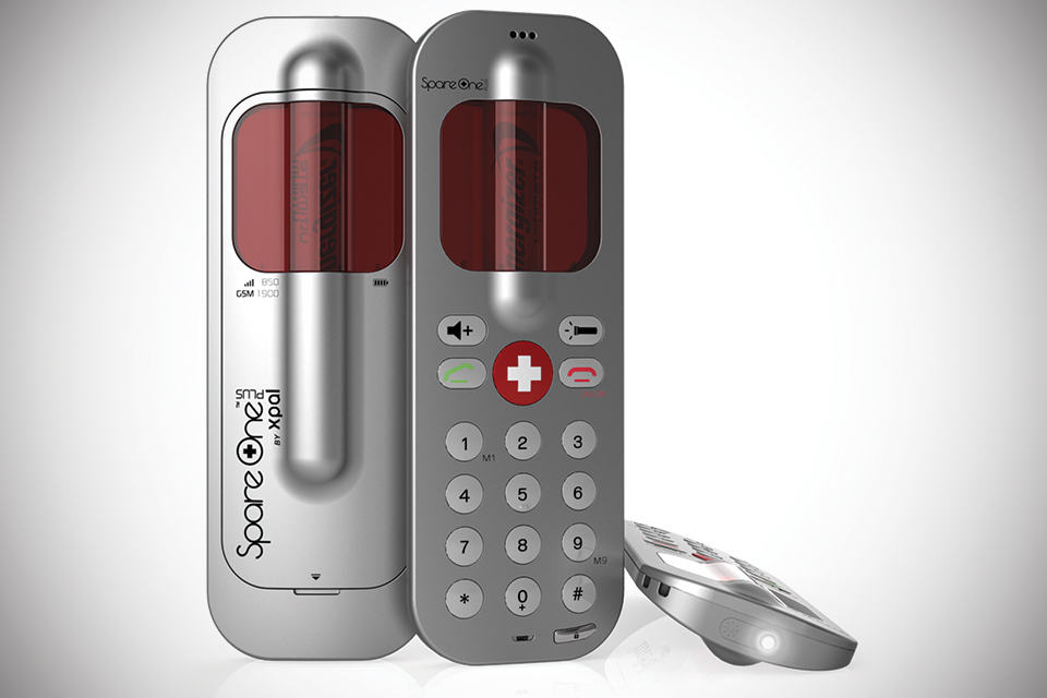 SpareOnePlus Emergency Phone - matte silver
