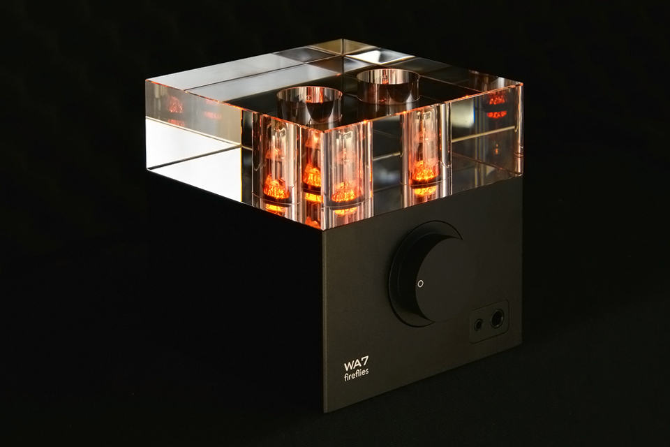 Woo Audio WA7 Fireflies Headphone Amplifier - Black with Smoked Glass