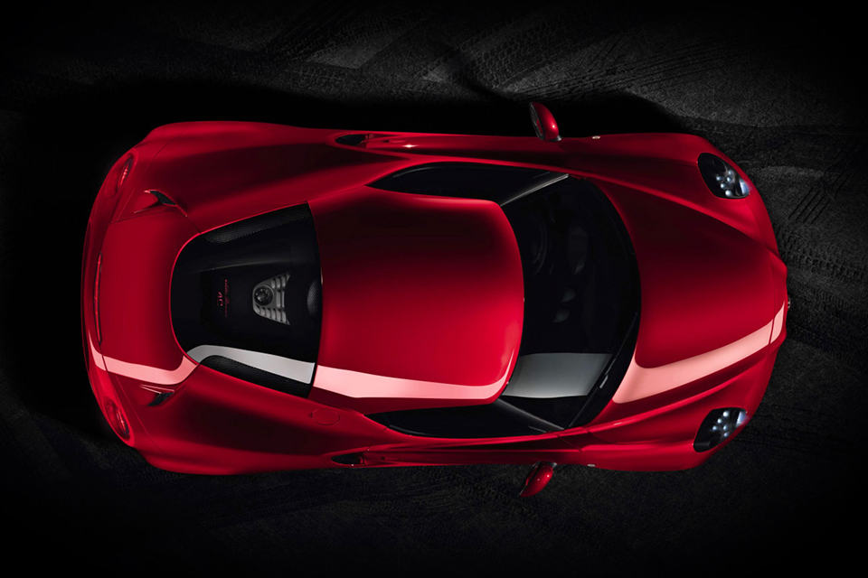 2014 Alfa Romeo 4C Sports Coupe