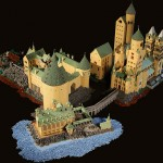 400,000-Piece LEGO Hogwarts by Alice Finch