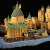 400,000-Piece LEGO Hogwarts by Alice Finch - The Great Hall