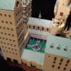 400,000-Piece LEGO Hogwarts by Alice Finch - Transfiguration Courtyard