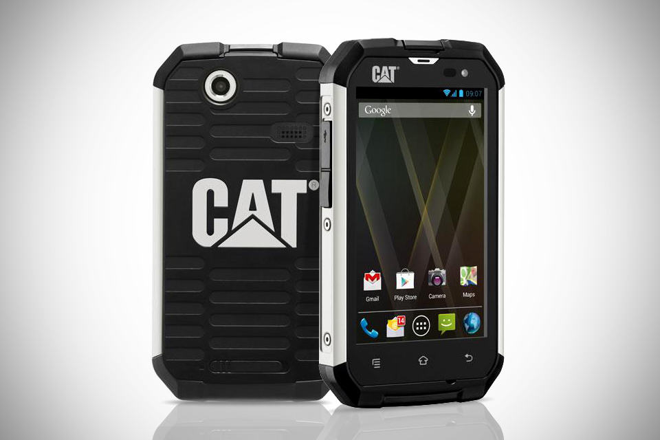 Caterpillar CAT B15 Ruggedized Android Phone image1 Caterpillar CAT B15: Ecco lo Smartphone Android Indistruttibile