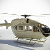 Eurocopter EC145 BRABUS Limited Edition Livery Beige quarter Right