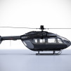 Eurocopter EC145 BRABUS Limited Edition Livery Black profile Right