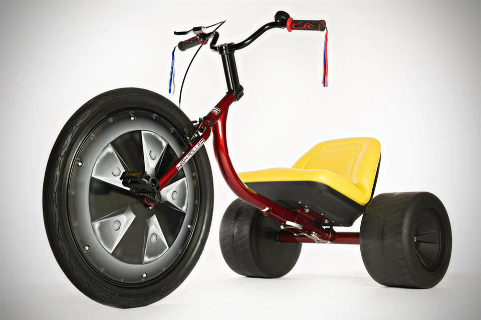 Adult big wheel tricycle