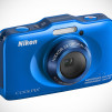 Nikon COOLPIX S31 Waterproof Digital Camera - Blue