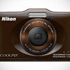Nikon COOLPIX S31 Waterproof Digital Camera - Brown