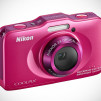 Nikon COOLPIX S31 Waterproof Digital Camera - Pink