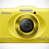 Nikon COOLPIX S31 Waterproof Digital Camera - Yellow