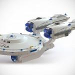 Officially Licensed Kre-O Star Trek Starship Enterprise