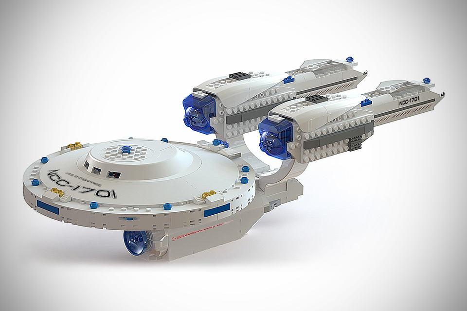 Officially Licensed Kre-O Starship Enterprise