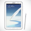 Samsung GALAXY Note 8.0 Tablet - White Front with S-Pen