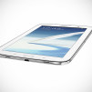 Samsung GALAXY Note 8-0 Tablet - White flat Front
