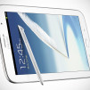 Samsung GALAXY Note 8.0 Tablet - White horizontal Front with S-Pen