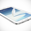 Samsung GALAXY Note 8.0 Tablet - White quarter Flat