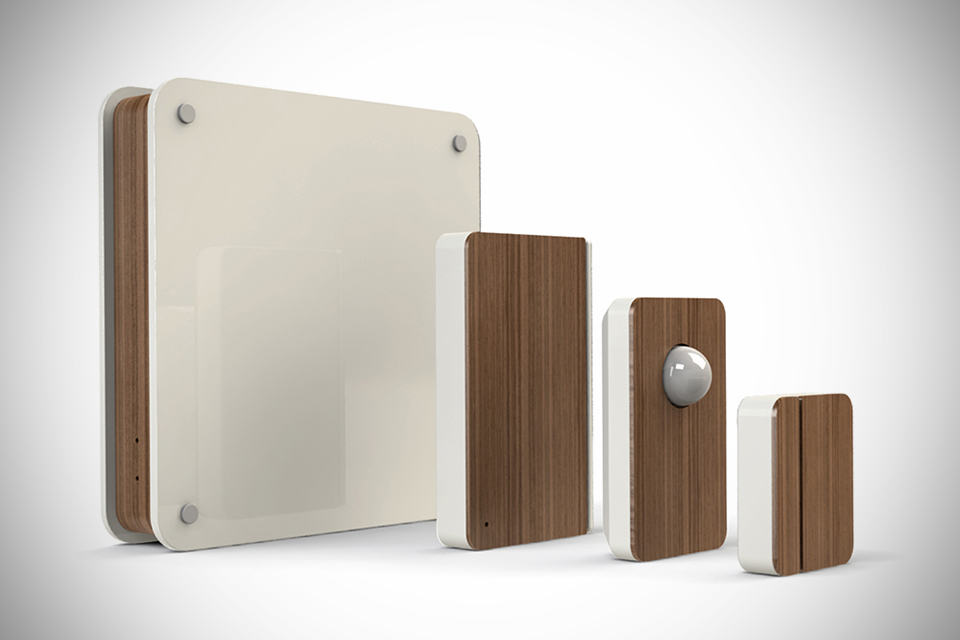 Scout Wireless Home Security System - Walnut