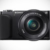 Sony NEX-3N Mirrorless Digital Camera - Black Front