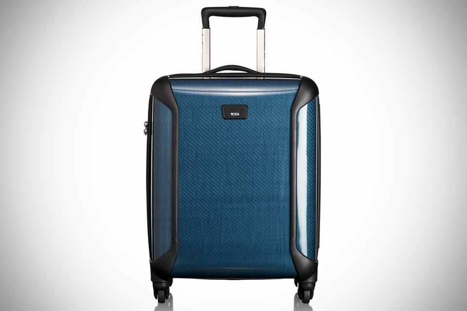 TUMI Tegra-Lite Continental Carry-on Luggage indigo - front