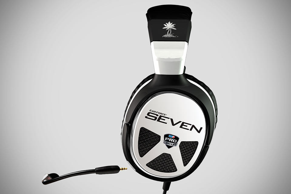 Turtle Beach Ear Force XP Seven Gaming Headset - side view