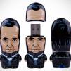 US Presidents Abraham Lincoln MIMOBOT USB Flash Drives