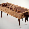 Wooden Nintendo NES Controller Coffee Table