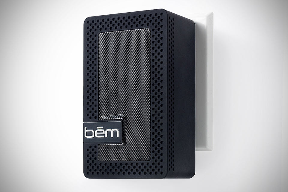 bem wireless Outlet Speaker black