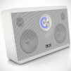 iLoud Portable Studio Monitor - white on white front