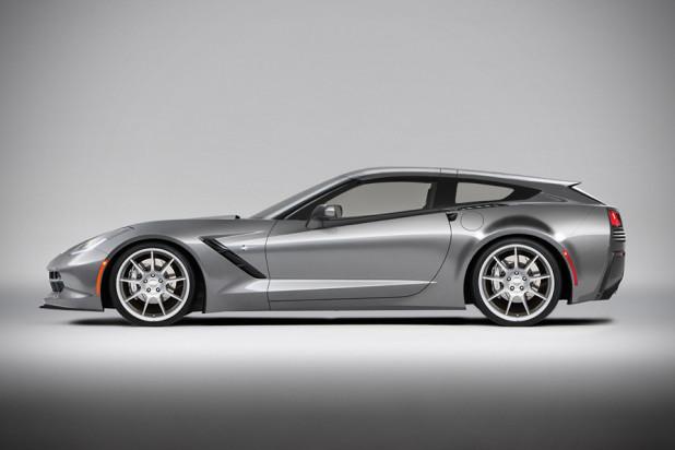 2014 Callaway Aerowagon Concept - side profile