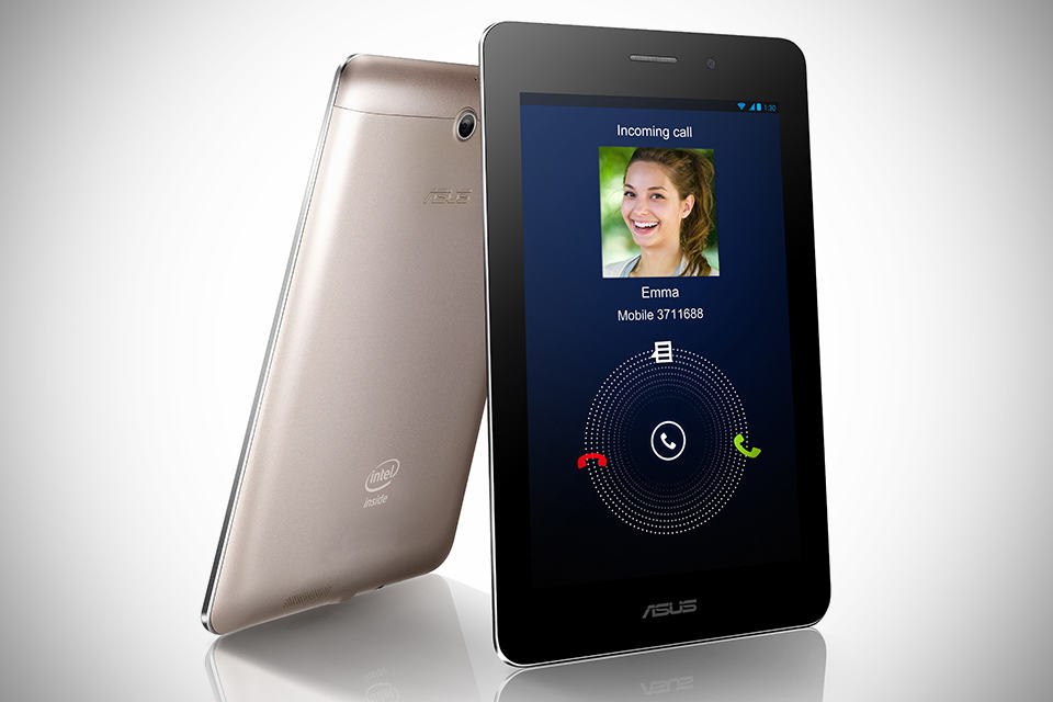 ASUS FonePad Tablet Phone - champagne gold