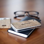 Bark Minimalist Cork Wallet & iPhone Accessories