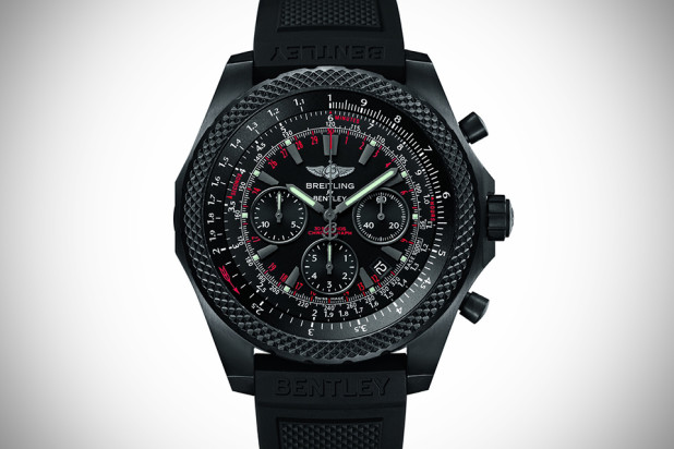 Breitling for Bentley Light Body Midnight Carbon Watch