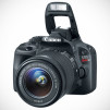 Canon EOS Rebel SL1 Digital SLR Camera - Front-angle with Lens